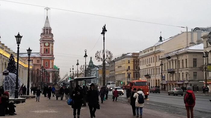 saint petersburg nevsky prospekt