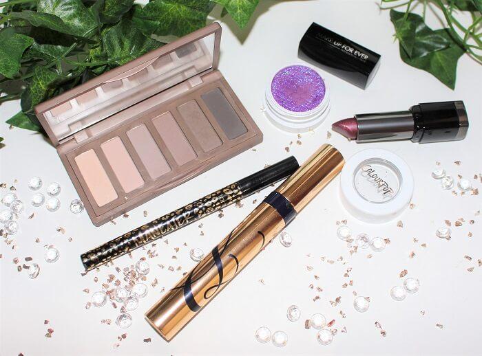 maquillage violet colour pop fard dare