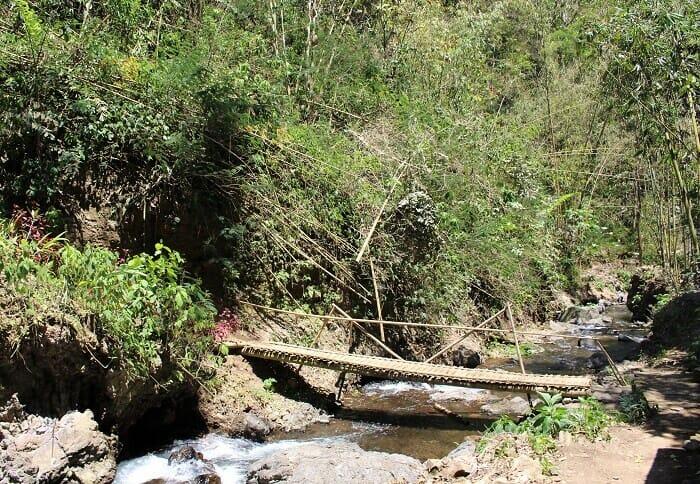 bali cascade melanting waterfall