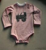 body rose tracteur