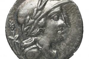 thyrse / Chiffre 9 en grec 3.81gr _ 17.5mm