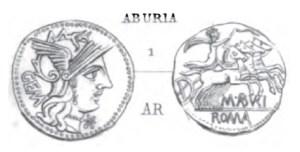 Denier Aburia _ RRC 250/1