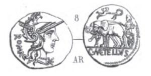 Denier Caecilia _ RRC 269/1