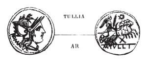 Denier Tullia _ RRC 280/1