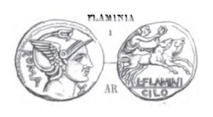 Denier Flaminia _ RRC 302/1