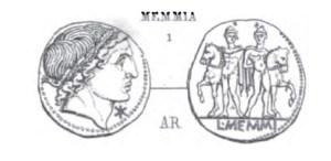 Denier Memmia _ RRC 304/1