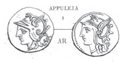 Denier Appuleia _ RRC 317/1