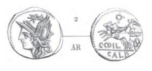 Denier Coelia _ RRC 318/1a