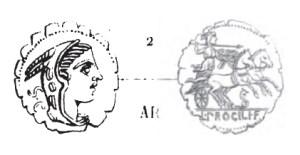 Denier Serratus Procilia _ RRC 379/2