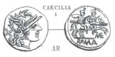 Denier Caecilia _ RRC 134/1