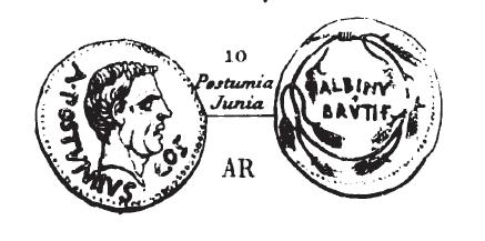 Denier Postumia _ RRC 450/3