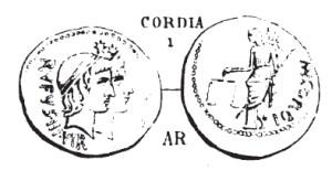 Denier Cordia _ RRC 463/1