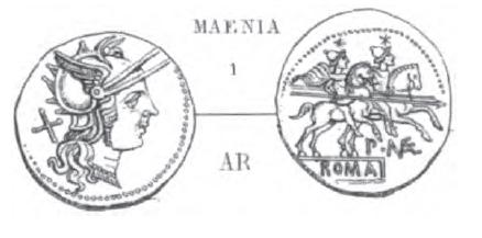 Denier Maenia _ RRC 138/1