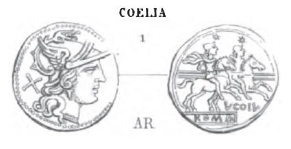 Denier Coelia _ RRC 154/1