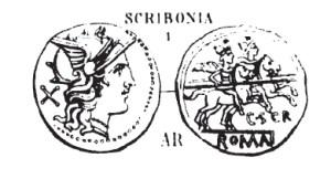 Denier Scribonia _ RRC 201/1