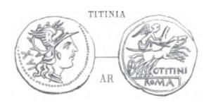 Denier Titinia _ RRC 226/1