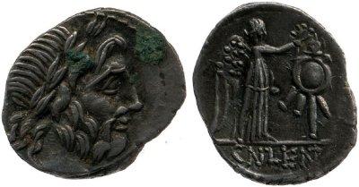 1242CO – Quinaire Cornelia – Cnæus Cornelius Lentulus Marcellinus