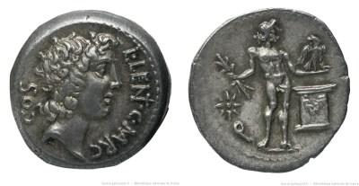 1426CO – Denier Cornelia – Lucius Cornelius Lentulus