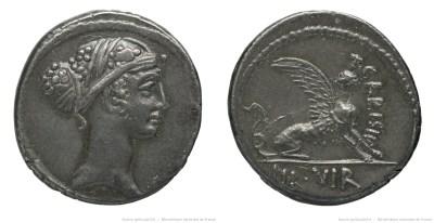 1475CA – Denier Carisia – Titus Carisius