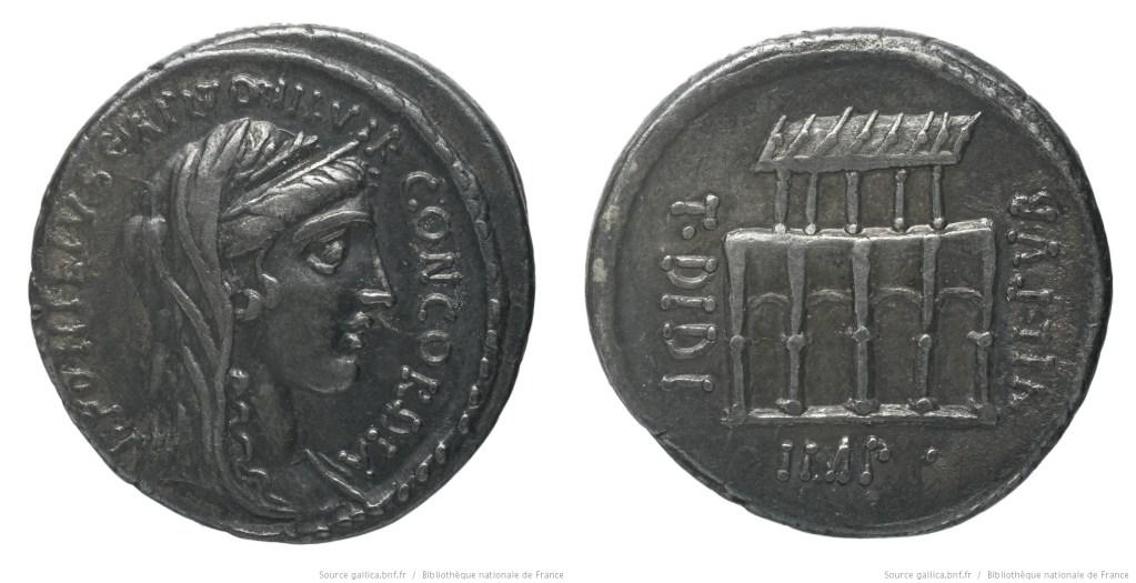 1406DI – Denier Didia – Titus Didius