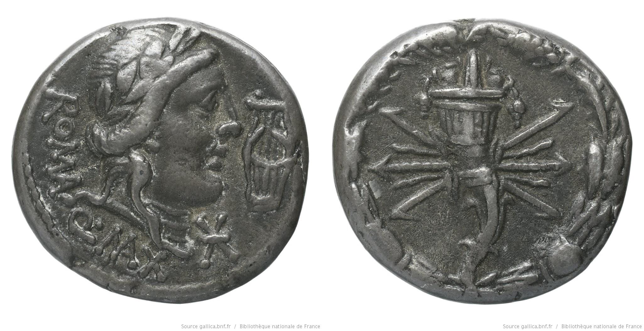 1299FA – Denier Fabia – Quintus Fabius Maximus
