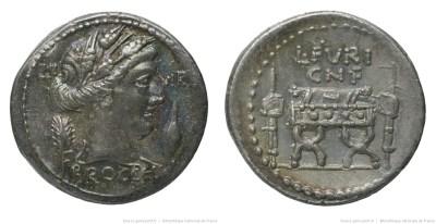 1374FU – Denier Furia – Lucius Furius Brocchus