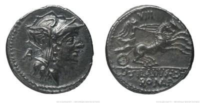 1193JU – Denier Junia – Decimus Junius Silanus