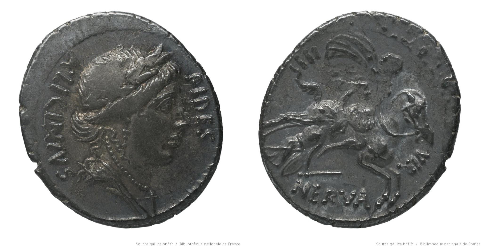 1449LI – Denier Licinia – Aulus Licinius Nerva