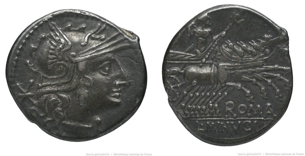 Read more about the article 973MI – Denier Minucia – Lucius Minucius