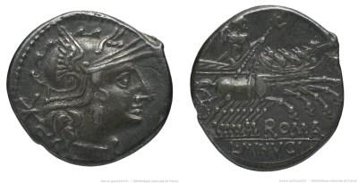 973MI – Denier Minucia – Lucius Minucius
