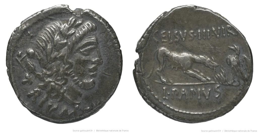Read more about the article 1500PA – Denier Papia – Lucius Papius Celsus