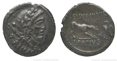 1500PA – Denier Papia – Lucius Papius Celsus