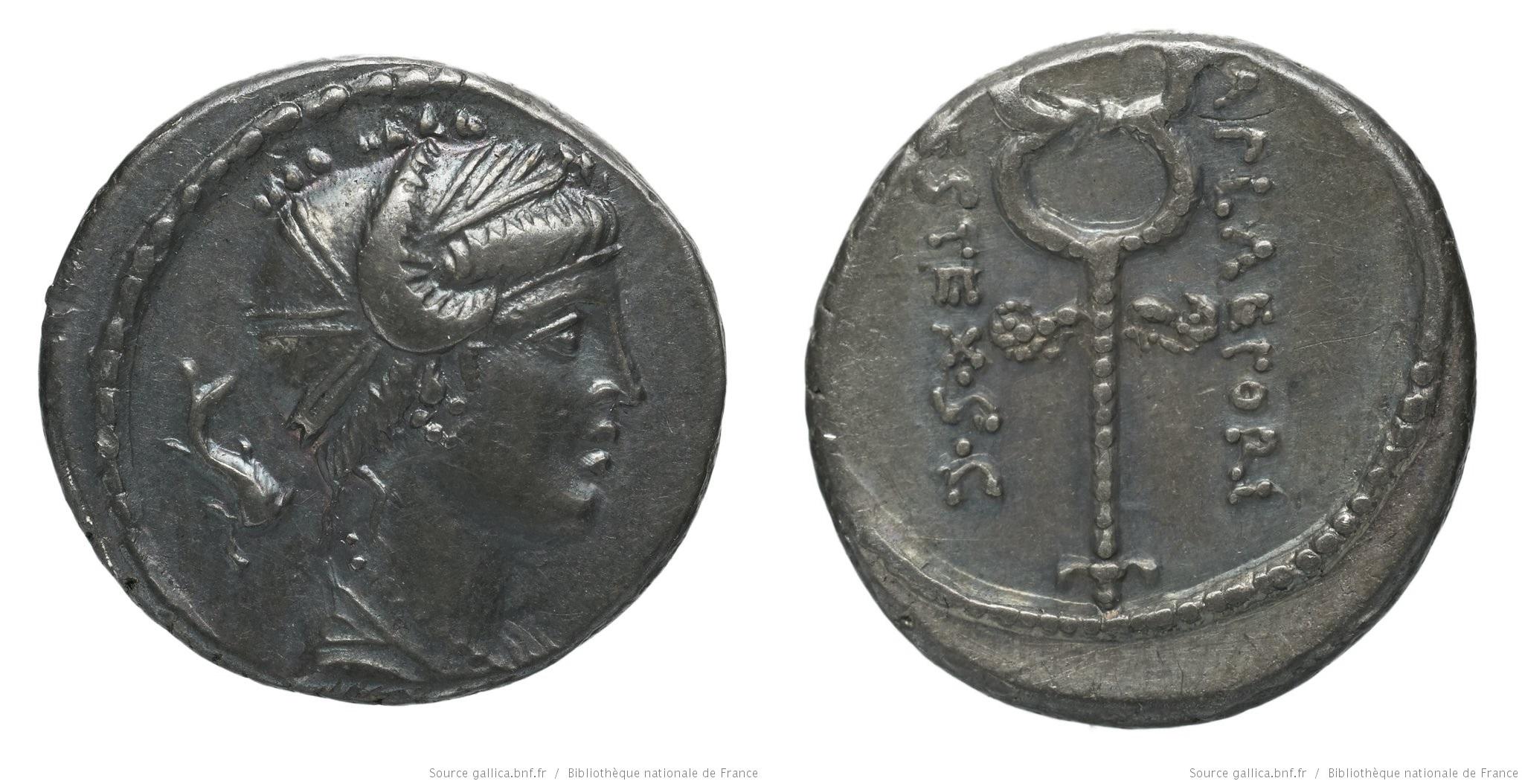 1351PL – Denier Plaetoria – Marcus Plætorius Cestianus