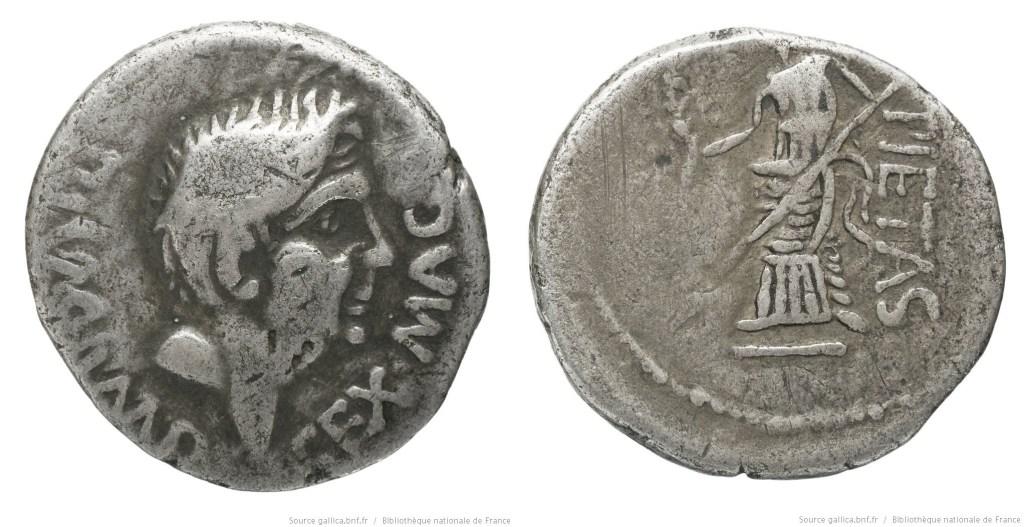 1521PO – Denier Sextus Pompée