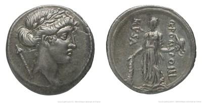 1364PO – Denier Pomponia – Quintus Pomponius Musa
