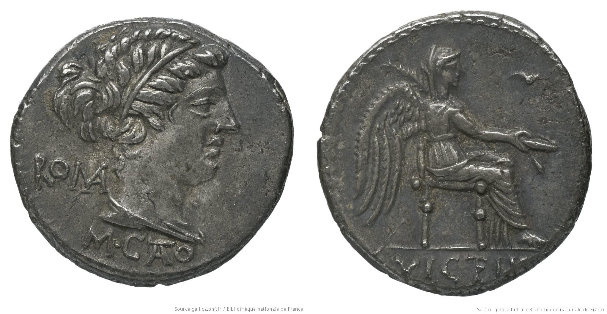 1228PO – Denier Porcia – Marcus Porcius Cato