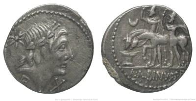 1188PO – Denier Postumia – Aulus Postumius Albinus