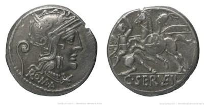 1024SE – Denier Servilia – Caius Servilius Vatia