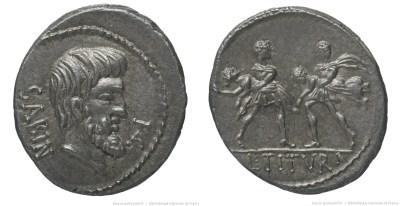 Read more about the article 1230TI – Denier Tituria – Lucius Titurius Sabinus