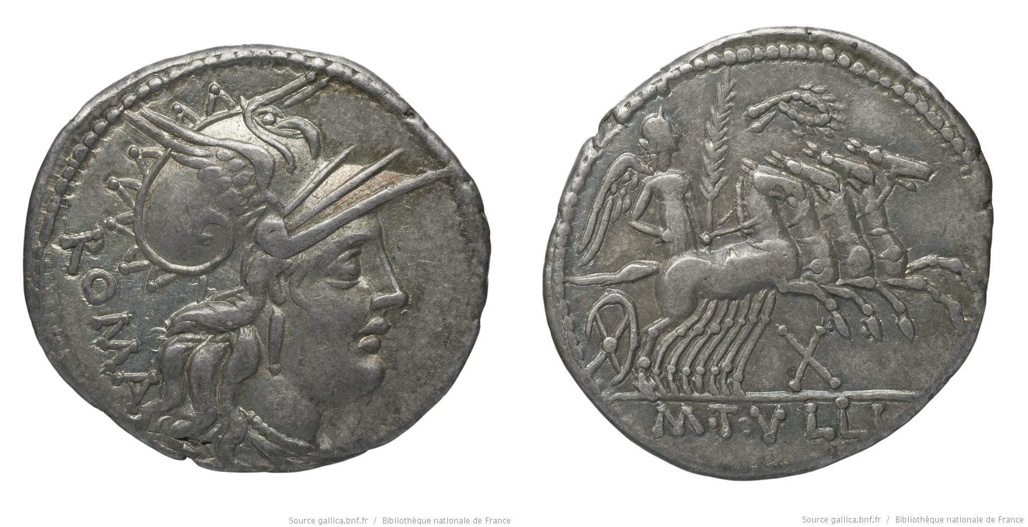 1065TU – Denier Tullia – Marcus Tullius