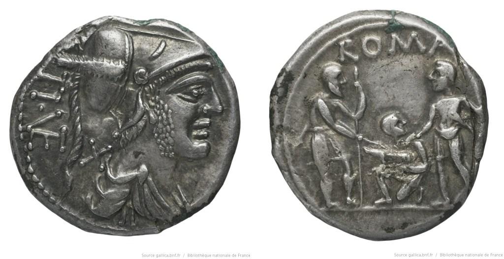 921VE – Denier Veturia – Tiberius Veturius
