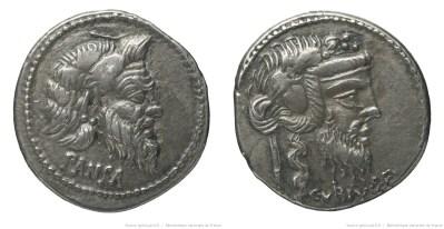1220VI – Denier Vibia – Caius Vibius Pansa
