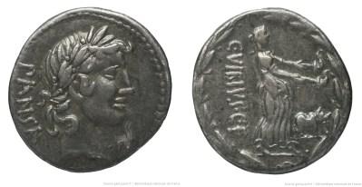 Read more about the article 1221VI – Denier Vibia – Caius Vibius Pansa