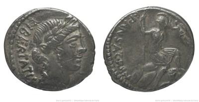 1437VI – Denier Vibia – Caius Vibius Pansa