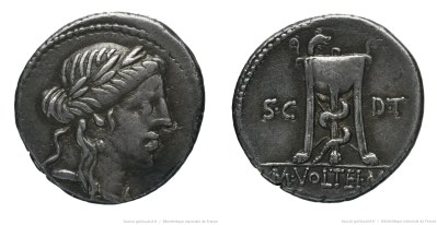 1322VO – Denier Volteia – Marcus Volteius