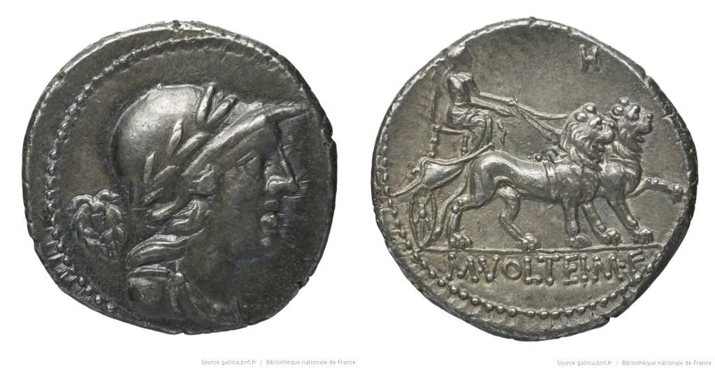 1321VO – Denier Volteia – Marcus Volteius