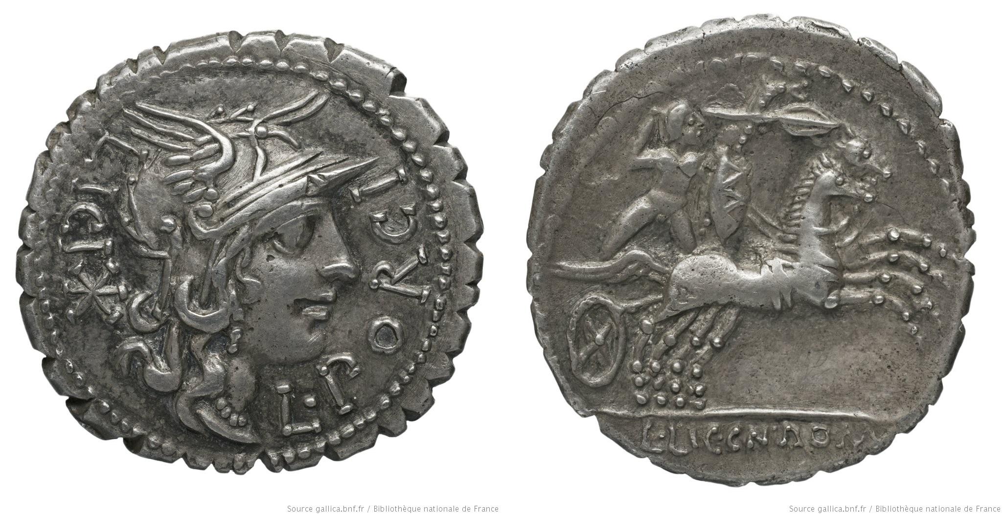 1071PO – Denier Serratus Porcia – Lucius Porcius Licinius