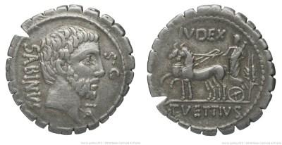 1348VE – Denier Serratus Vettia – Titus Vettius Sabinus