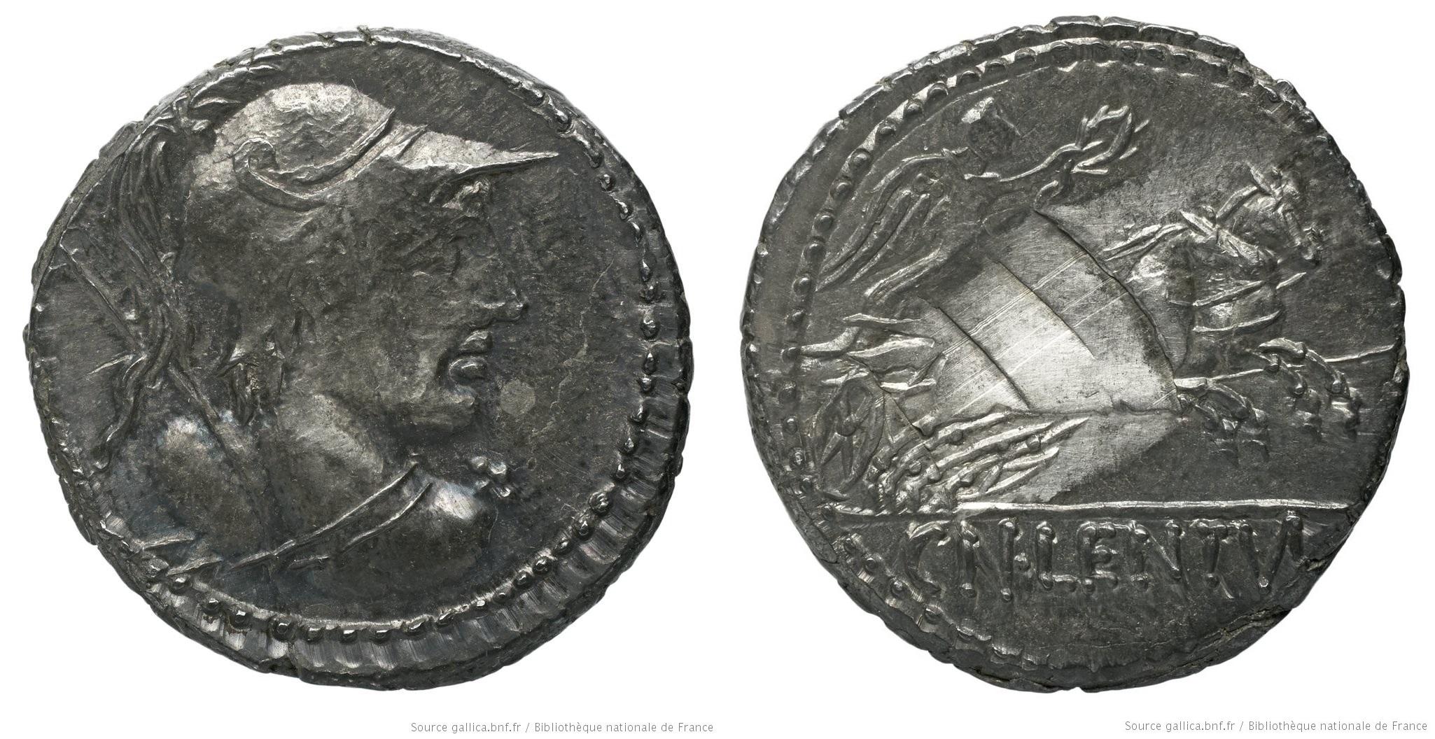 1241CO – Denier Cornelia – Cnæus Cornelius Lentulus Marcellinus