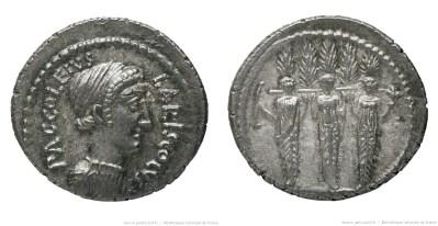 1557AC – Denier Accoleia – Publius Accoleius Lariscolus
